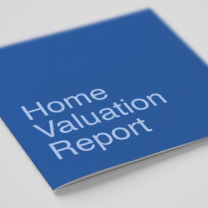 Free home valuation report